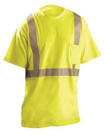Occunomix LUX-TP2/FR Hi-Viz Flame Resistant Short Sleeve T-Shirt Front