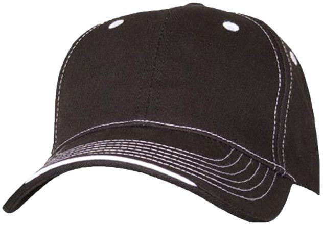 RefrigiWear 6197 Structured Cap Dozen Black