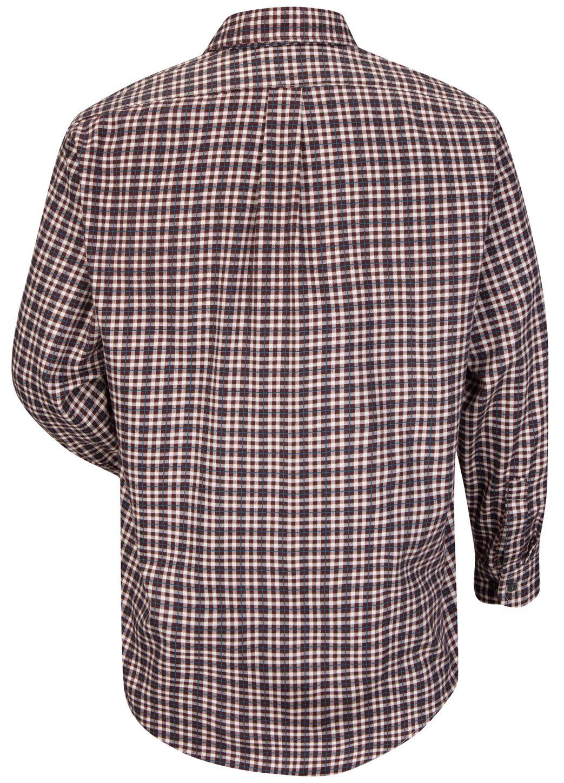bulwark-fr-plaid-shirt-sld6-lightweight-uniform-burgundy-teal-plaid-back.jpg