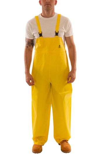 Tingley O56007 DuraScrim™ Fire Resistant Overalls - PVC Coated, Chemical Resistant, with Plain Front Front