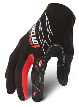 Ironclad Touchscreen work gloves back