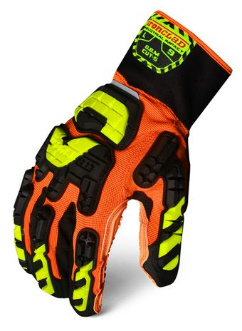 Ironclad VIB-OBMC5 Vibram Oil Based Mud Cut 5 Gloves