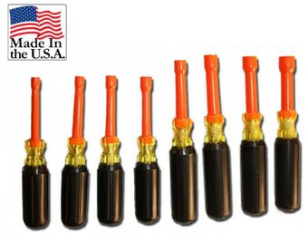 Cementex TR-8CND Insulated Composite Nut Driver Set, 8PC