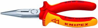 Knipex Insulated Snipe Nose Side Cutting Pliers 25 08 160 SBA