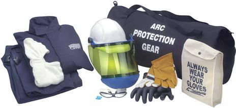 Level 2 Arc Flash Kit with 12 Cal Jacket Bib