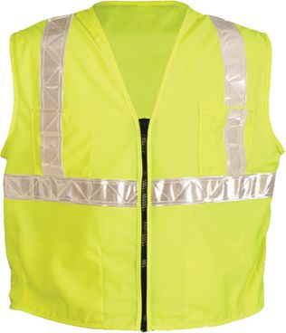 OK-1 Safety Vests SCL - Class 2 Mesh Back Polyester Yellow
