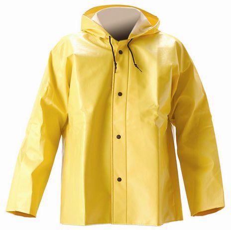 nasco worktrack foul weather hooded rain jacket