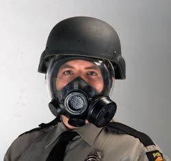 MSA Advantage 1000 Series Riot Control Gas Mask