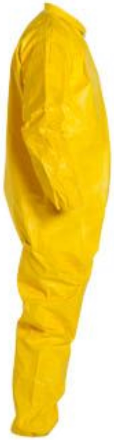 DuPont Tychem QC Coveralls with Elastic Wrists and Ankles QC125 Right Side