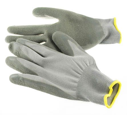 Nylon Working Gloves with Premium Latex Coated Palm