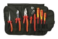 Knipex Tools Insulated Pliers and Screwdriver Tool Set 9K 98 98 27 US