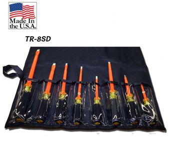 Cementex TR-10SD Insulated Screwdriver Roll, 10PC