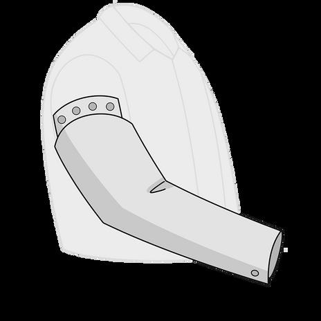 Otterlayer aluminized sleeves SD3-ACF