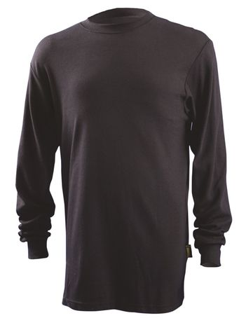 Occunomix LUX-LSTFR Flame Resistant Long Sleeve T-Shirt Front