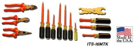 Cementex ITS-16MTK Insulated Meterman Tool Kit, 16PC