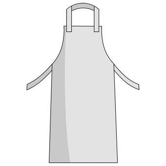Otterlayer aluminized apron A41-ACF