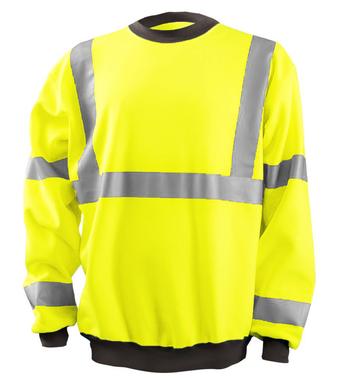 occunomix-lux-cswt-crew-neck-sweatshirt-front-yellow.png