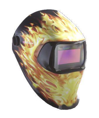 3M 07-0012-31BZ Blazed Auto Dimming Welding Helmet