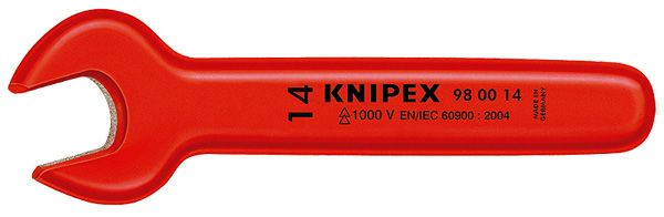 Knipex Tools Insulated Open End Wrenches Inch Sizes