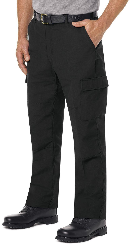 Workrite FR Cargo Pants FP70 Classic Rescue Black Example Left