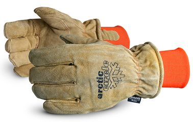 Superior 678AFTLK Arctic Circle Leather Heavy Freezer Gloves