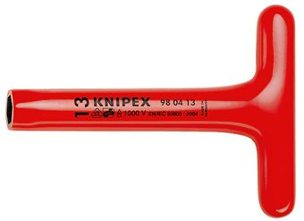 "Knipex Tools 8"" Insulated Nut Drivers With T-Handle"