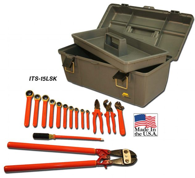 Cementex ITS-15LSK Insulated Linesman's Secondary Kit, 15PC