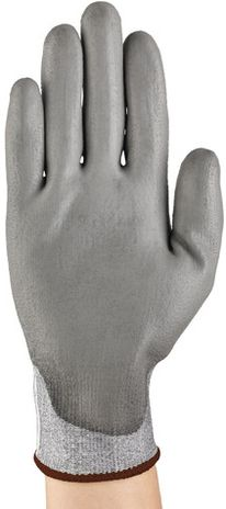 Ansell Hyflex Protective Safety Gloves 11-627 - PU Coated Dyneema Cut Back