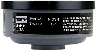 North Safety N75001L Organic Vapor Cartridges for Respirator