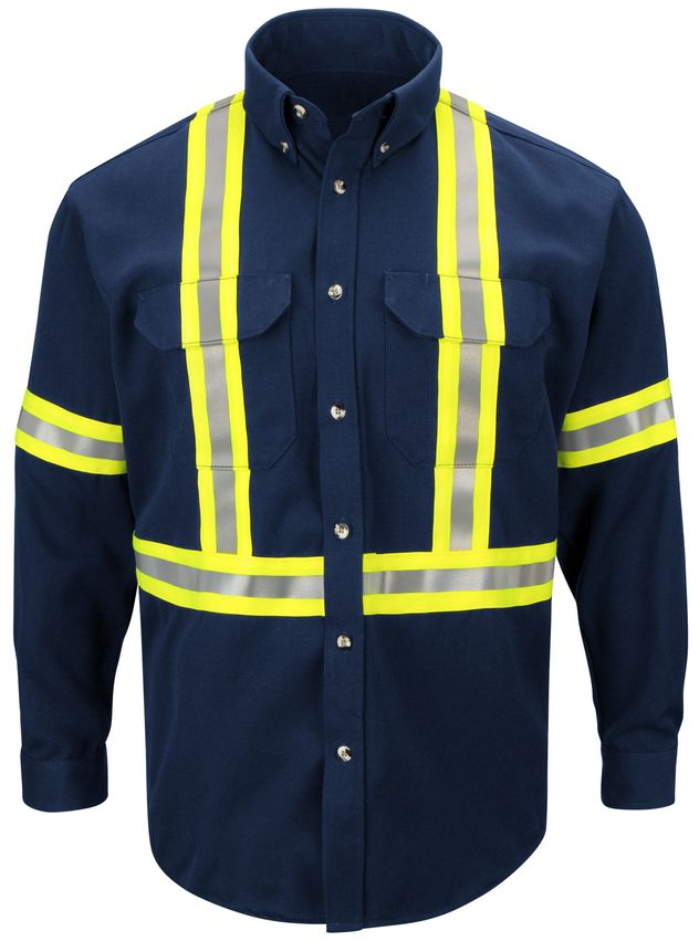 bulwark-fr-shirt-sluc-midweight-enhanced-visibility-uniform-reflective-trim-navy-front.jpg