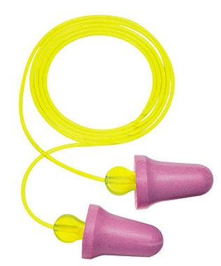 3M Peltor No-Touch Corded Foam Ear Plugs P2001