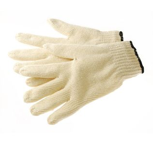 Phoenix HA0101 String Knit Work Gloves, Lightweight 7ga 100% Cotton