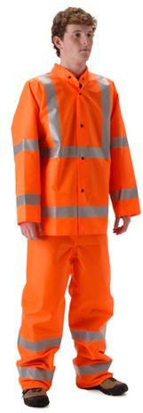nasco worklite hi vis lightweight tear resistant foul weather suit