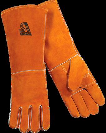 Steiner Shoulder Split Cowhide Stick Welding Gloves 21918