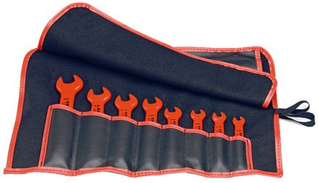 Knipex Tools Metric Insulated Open End Wrench Tool Set 98 99 13 S5