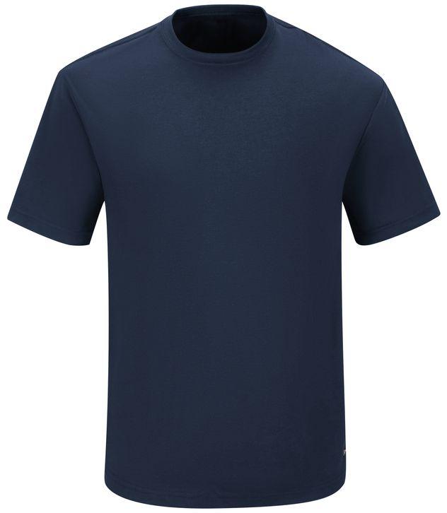 Workrite FR Station Wear Tee FT30, Short Sleeve Navy Front