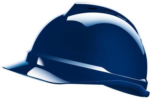 MSA Hard Hat in Blue - V-Gard 500 Shell