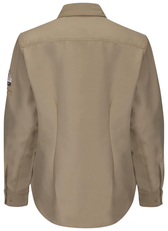 bulwark-women-s-fr-shirt-qs41-iq-series-long-sleeve-endurance-collection-khaki-back.jpg