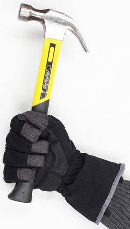 Ironclad Tundra Winter/Freezer Work Gloves in Action - with Hammer