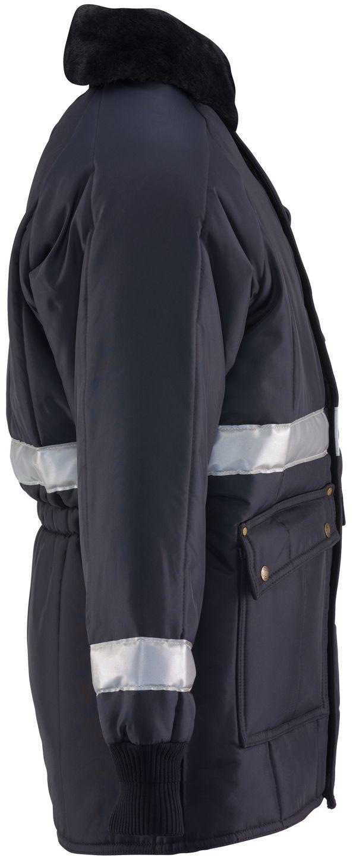 RefrigiWear 0343 Iron-Tuff Siberian Vinter Work Coat With Reflective Tape Right