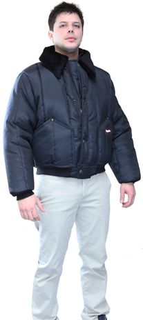 RefrigiWear 0356 Iron-Tuff Tanker Insulated Work Jacket - Front View