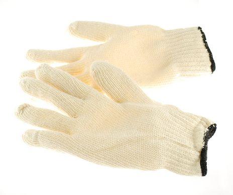 4Works HA0201 String Knit Work Gloves, 7 ga 100% Cotton