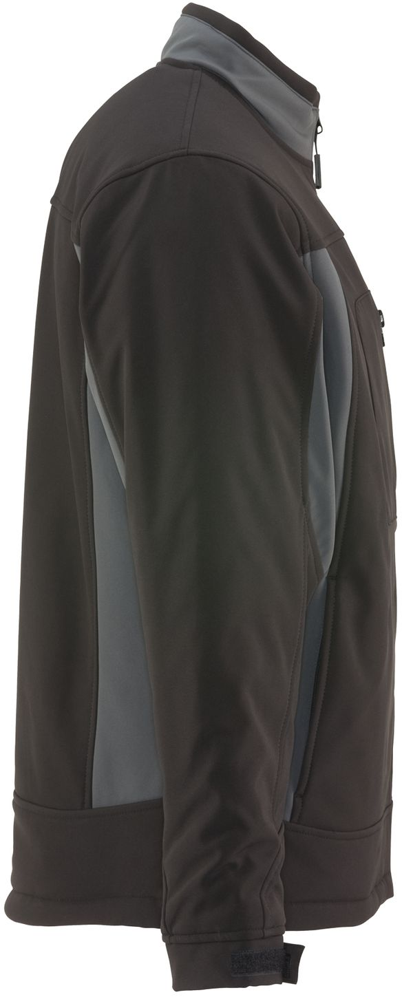 RefrigiWear 0490 Softshell Insulated Work Jacket Black Right