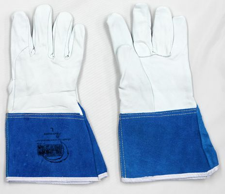 Superior Precision Cut Resistant Mig Tig Welding Gloves 370GFKL - Front and Back