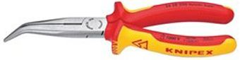 Knipex Insulated Snipe Nose Side Cutting Pliers 26 28 200 SBA