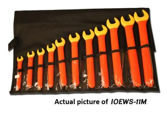 Cementex IOEWS-13 Insulated Open End Wrench Kit, 13PC