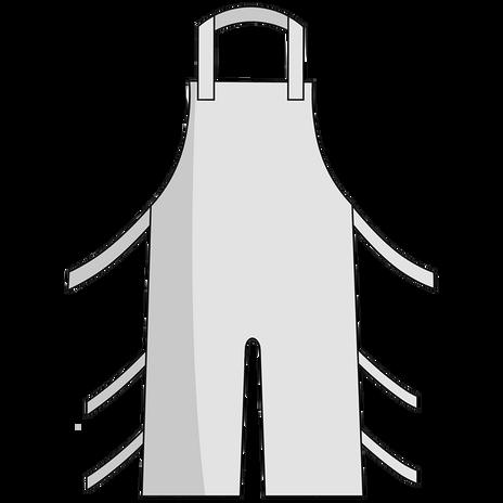 Otterlayer aluminized apron A32-ACF