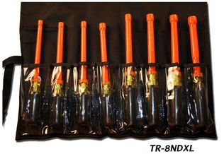 Cementex TR-8NDXL Insulated Nut Driver Set, 8PC