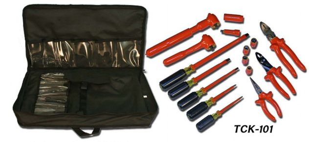 Cementex TCK-101 Insulated Telecommunication Tool Kit, 16PC