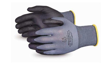 Superior Dexterity S13BPVC Nylon Gloves with PVC Foam Palms